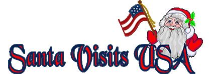 Santa Visits USA Logo